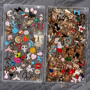 Huge Jewelry Charm Bundle / Lot